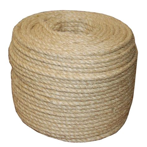 t w cordage 3 8 in x 732 ft twisted sisal rope 23