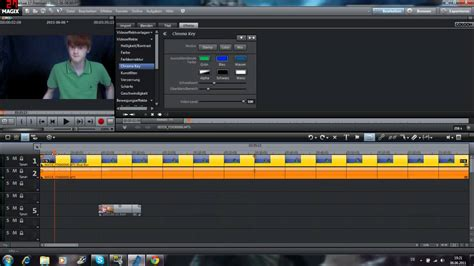 tutorial video deluxe magix magix video deluxe 17 premium hd tutorial chromakeying