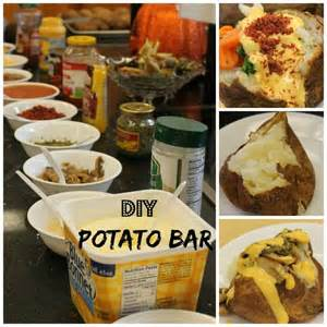 Toppings For A Potato Bar by Best 25 Baked Potato Bar Ideas On Baked