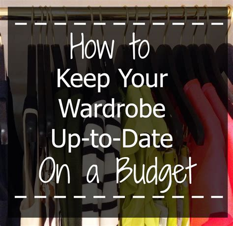 Top 5 Items To Keep In Your Closet For 08 by My Top 5 Tips For Keeping Your Wardrobe Up To Date On A