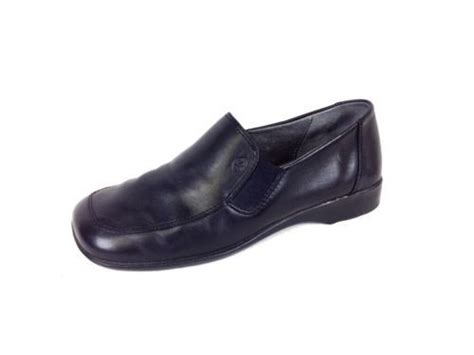 german comfort shoes josef seibel shoes leather black comfort slip on loafers