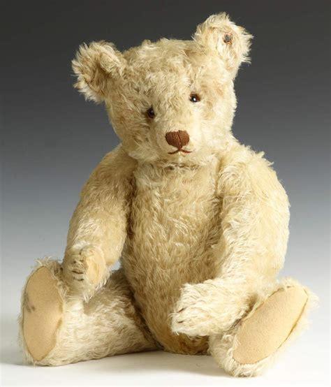 vintage teddy bears vintage white mohair steiff teddy bear cottone auctions