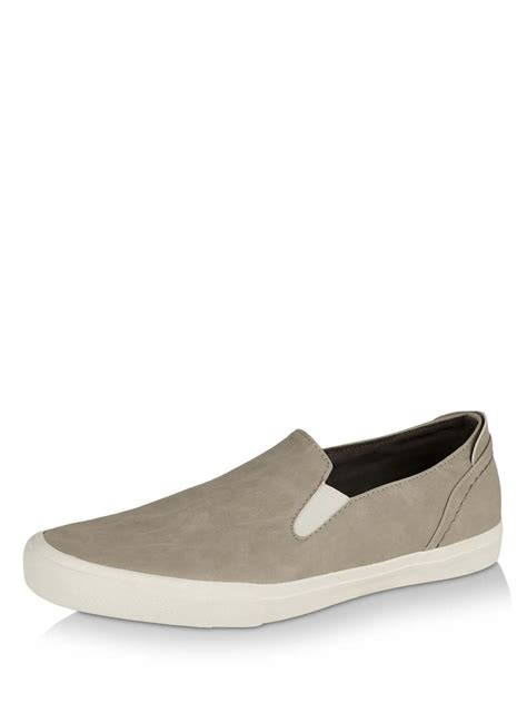 New Look Slip On by Buy New Look Slip On Shoes For S Grey Formal