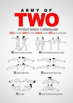 couples workout routine on