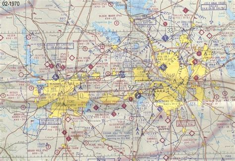 dfw sectional chart dfw airspace history 1970s and 1980s tech ops forum