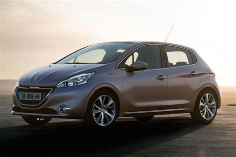 peugeot south leaked first official photos of new peugeot 208 supermini