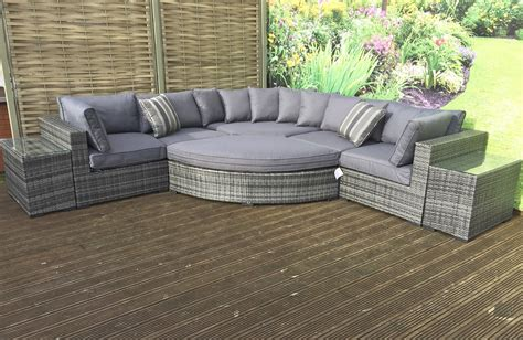 grey rattan corner sofa grey jessica rattan corner sofa set furniture for modern