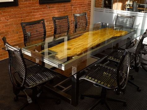 Custom Conference Tables Custom Conference Table By Where Wood Meets Steel Custommade