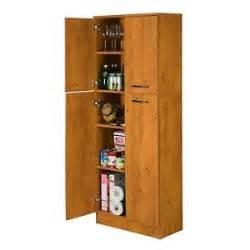 Black Kitchen Cabinet Doors Kitchen Pantry Storage Cabinet 4 Doors Adjustable Shelves