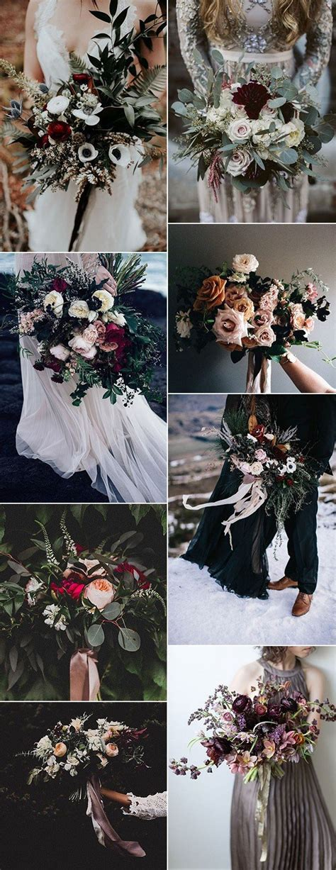 Wedding Bouquet Trends 2018 by Top 25 Moody Wedding Bouquets For 2018 Trends Page 2 Of