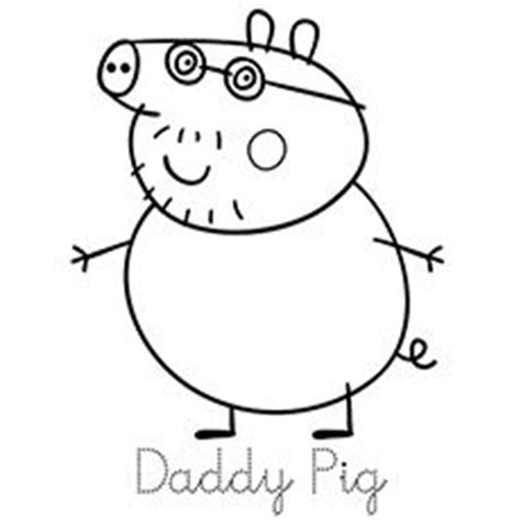 peppa pig mummy coloring pages hello peppa pig and her family is here print trace and