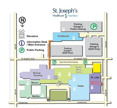 st joseph hospital floor plan site locations