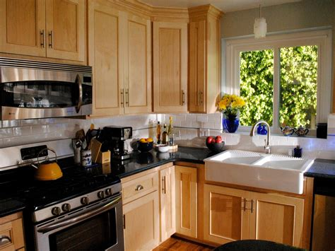 Refaced Kitchen Cabinets | kitchen cabinet refacing pictures options tips ideas