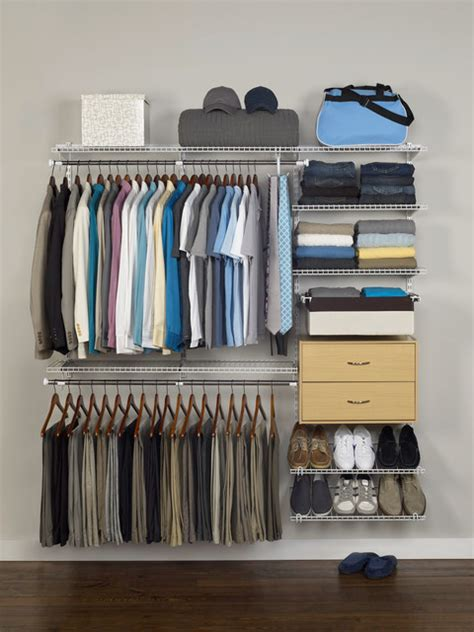 rubbermaid homefree closet s closet traditional