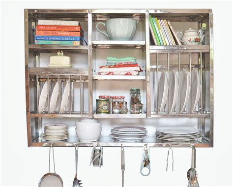 Stainless Steel Kitchen Rack Buy mighty stainless steel plate rack heavy wall mounted
