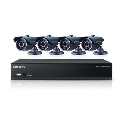 samsung security systems samsung sds v3040 4 channel dvr security system copyfaxes