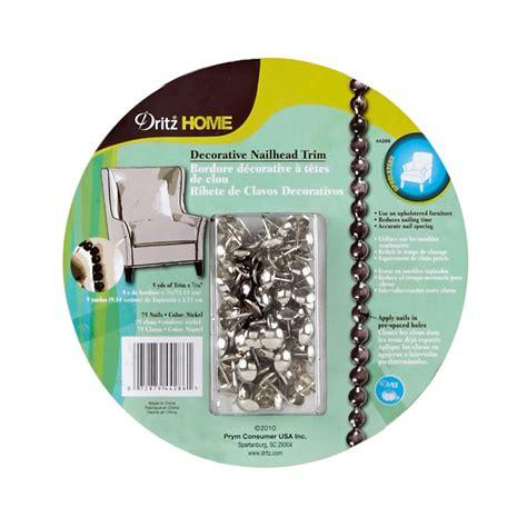 dritz home decorative nailhead trim nailhead trim 5 yards silver discount designer fabric