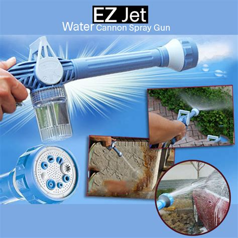 Ez Jet Water Cannon 8 Multi Spray ez jet water cannon multi function spray gun