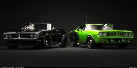 9 Muscle Car HD Wallpapers   Backgrounds   Wallpaper Abyss
