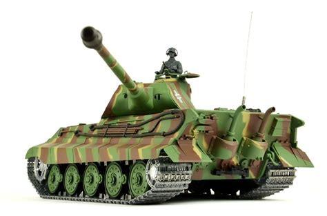 Gear Set Tiger 1 rc tank quot king tiger quot 1 16 heng metal gear metal tracks smoke sound 2 4 ghz