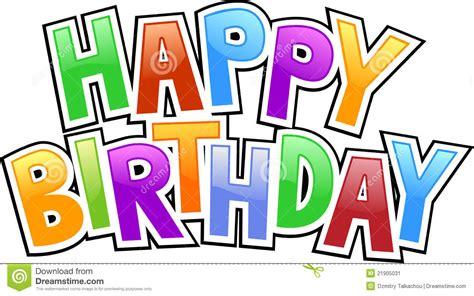 happy birthday graffiti stock image image