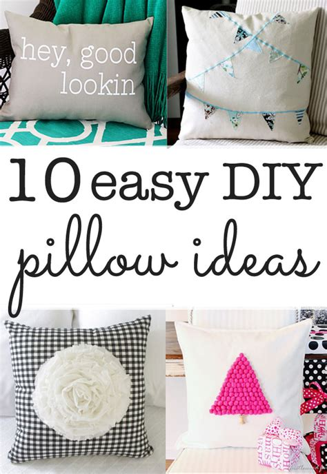 Pillow Diy by Diy Pillow Ideas Ten Ideas You Can Make In Minutes