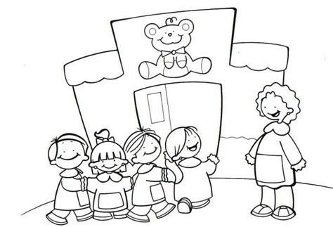 imagenes niños yendo ala escuela dibujos de ni 241 os yendo al colegio imagui