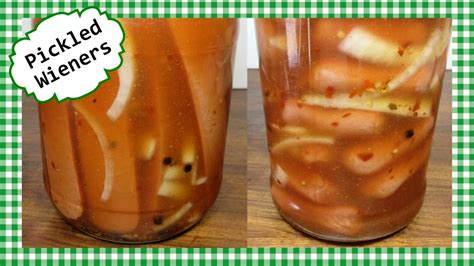 pickled dogs n spicy pickled wieners recipe dogs or sausages