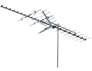 range outdoor tv antenna vhf uhf fringe hd hdtv ebay