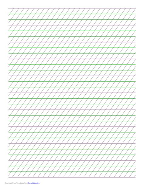 calligraphy paper italic guide paper free