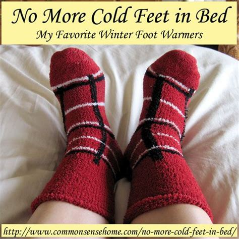 Foot Warmers For Bed by No More Cold In Bed Favorite Winter Foot Warmers