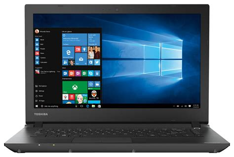 best buy toshiba satellite 14 quot laptop intel celeron 2gb memory 32gb emmc flash memory brushed
