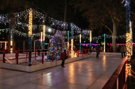 have you heard of bakersfield s christmas town the