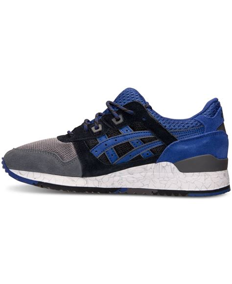asics sneakers mens lyst asics s gel lyte iii casual sneakers from