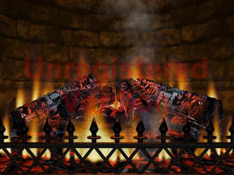 Real Fireplace Screensaver by 3d Realistic Fireplace Screen Saver Software Informer