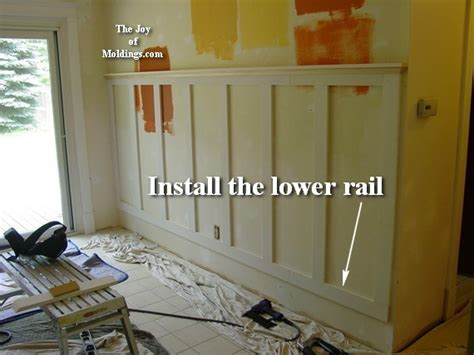 Cheap Wainscoting Ideas How To Install Wainscoting 100 For About 10 33 Ft