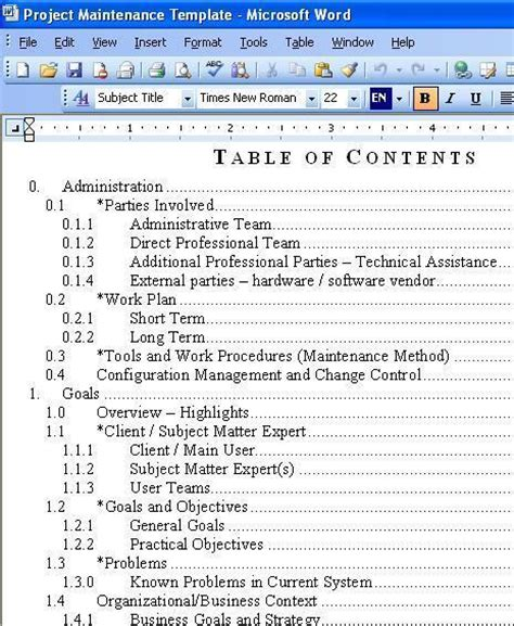 Free Download Kx Tes824 Maintenance Console Project Maintenance Plan Template