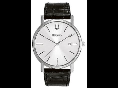 Bulova 96b104 bulova 96b104 s silver black review
