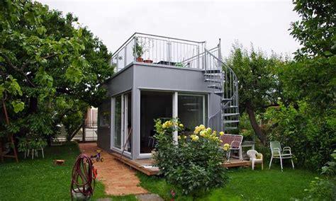 fertighaus mini mini haus mikrohaus mit 28 quadratmeter plus freisitz