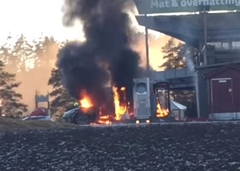 Tesla Model S Fires Tesla Model S Not Caused By Supercharger