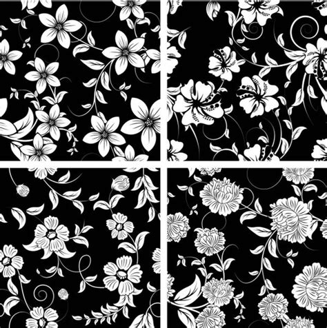 free black and white pattern images classic traditional black and white pattern 03 vector free