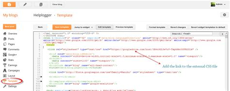 css tutorial link stylesheet how to host blogger css and javascript files in google