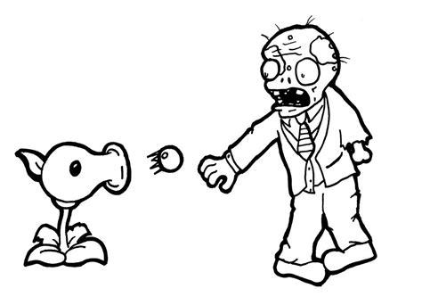 dibujos de plantas vs zombies para colorear e imprimir dibujos para colorear plantas vs zombies online imagui