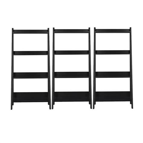 The Alamosa Ladder Bookcase By Bush Furniture Is Perfect Shelf Ladder Bookcase