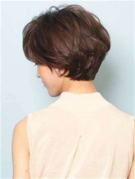 short gray hairstyles with wedge in back short haircuts for women over 50 back view bing images