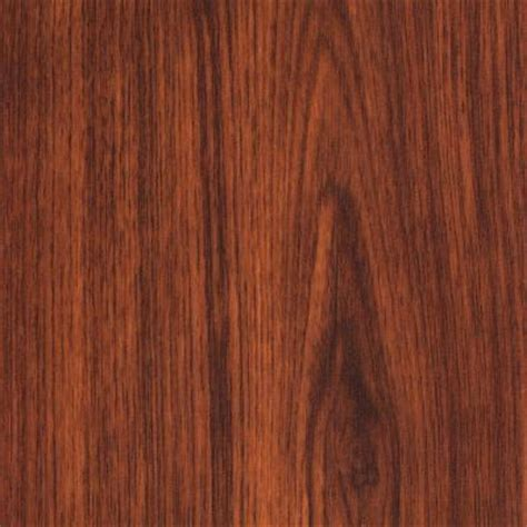 Can You Glue Laminate Flooring Together by Trafficmaster Brazilian Cherry 7 Mm Thick X 7 11 16 In