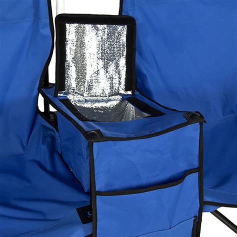 folding chair with canopy and cooler picnic folding chair w umbrella table cooler fold