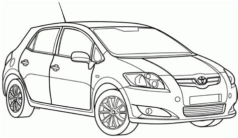 coloring pages toyota cars coloring pages toyota cars toyota cars colouring pages page