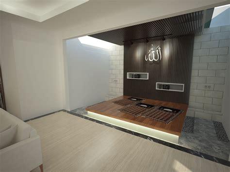 photo musholla icon house bsd renovation  desain