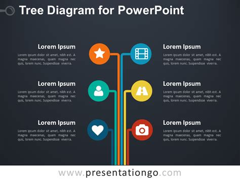 Tree Diagram For Powerpoint Presentationgo Com Powerpoint Tree Diagram